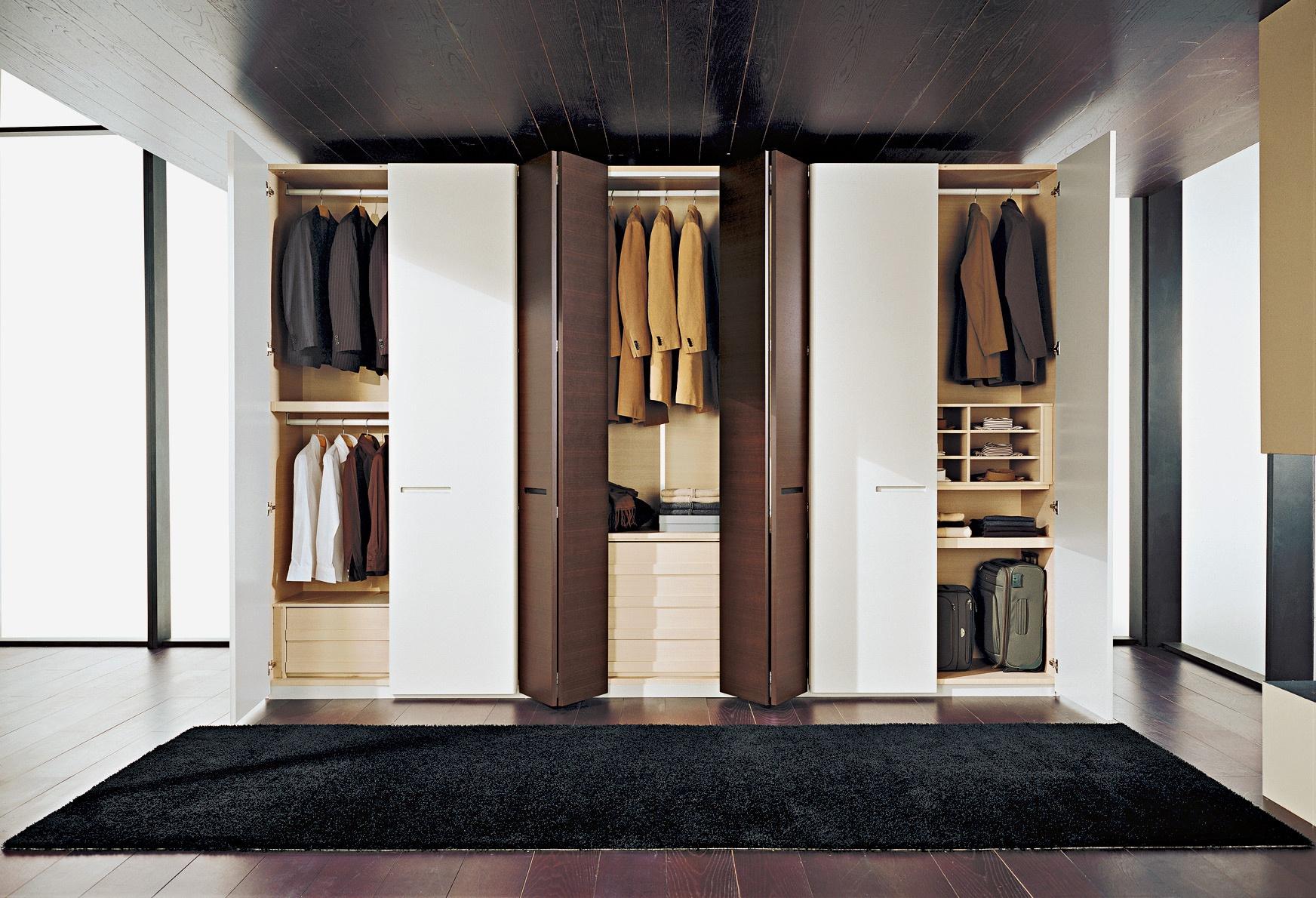 Размеры гардеробной, где расположить, как оборудовать, ответ.