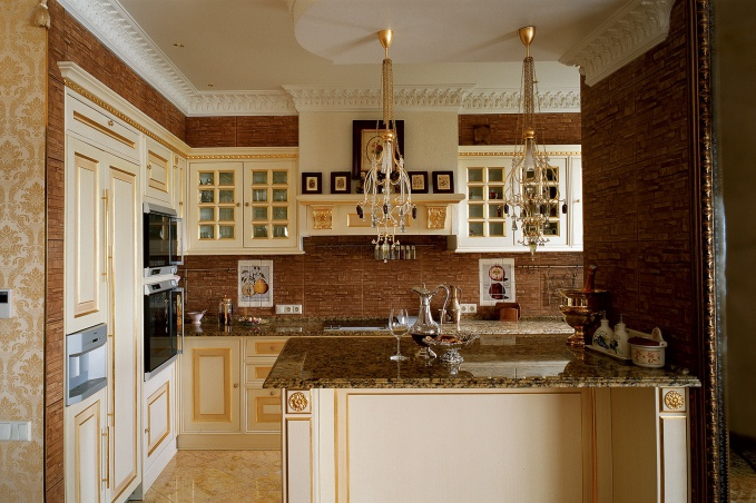 Наша фотогалерея поможет вам подобрать классные идеи, чтобы сделать самостоятельно  дизайн квартиры в классическом стиле