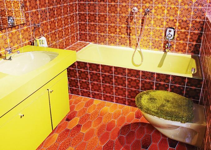 Badezimmer 1970