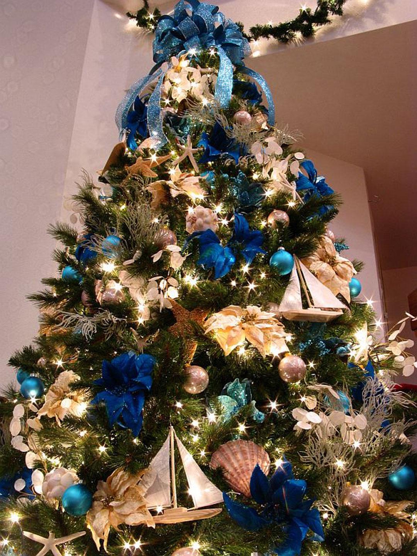 Дизайн украшения новогодней ёлки