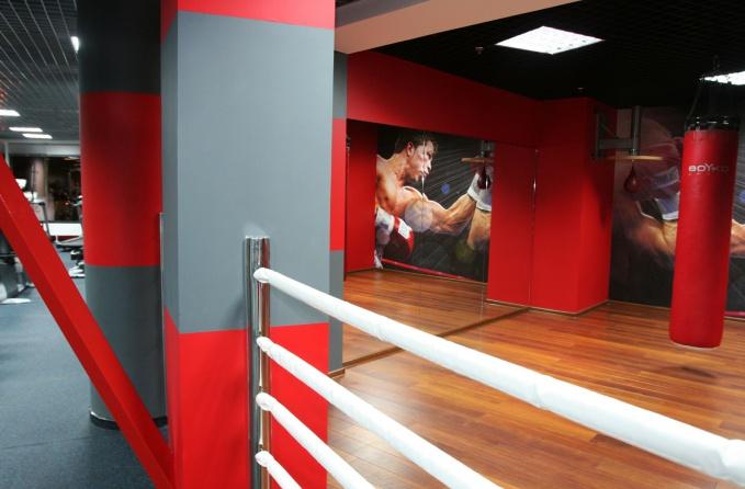 Зал для бокса дизайн