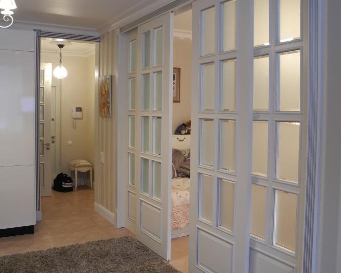 уютный современный интерьер маленькой квартиры