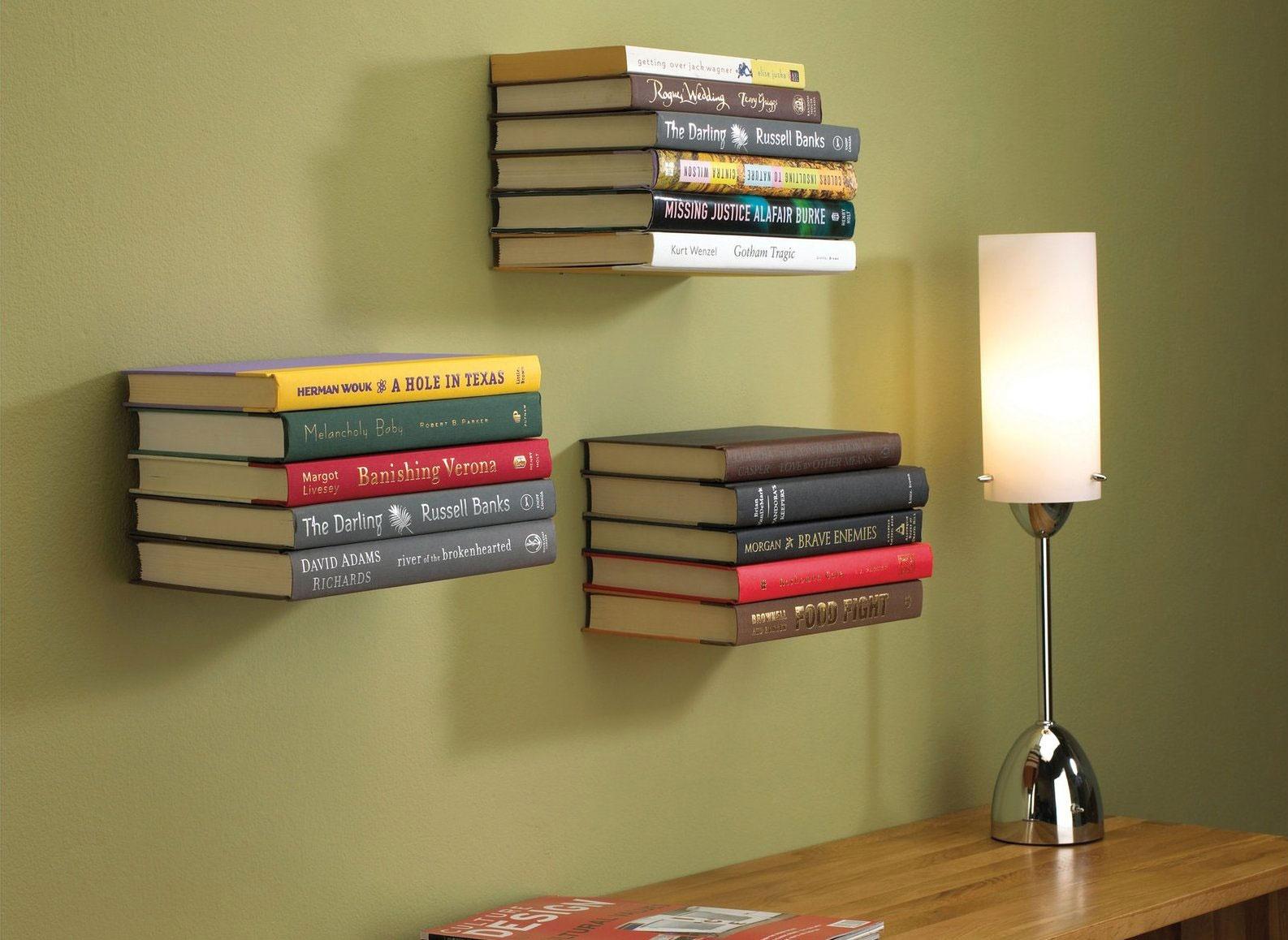 5 способов обновить интерьер с помощью книг.