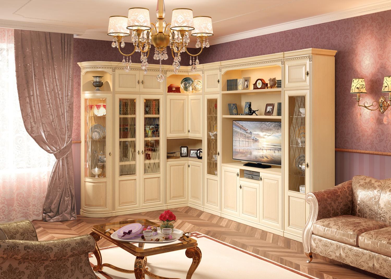 Светлая Мебель В Гостиной Фото