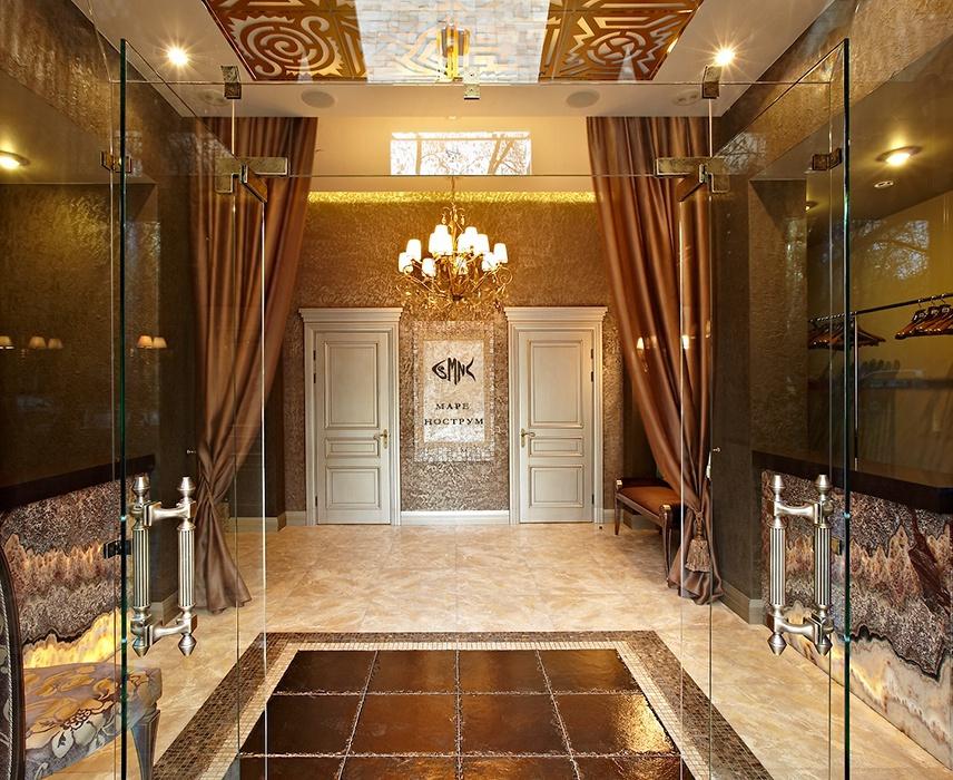 дизайн входной двери для ресторана