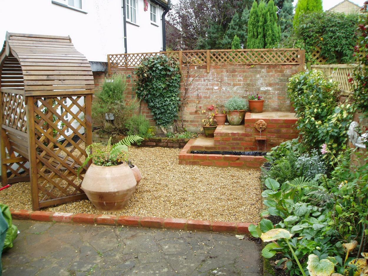 Дизайн для садового участка на даче своими руками 50