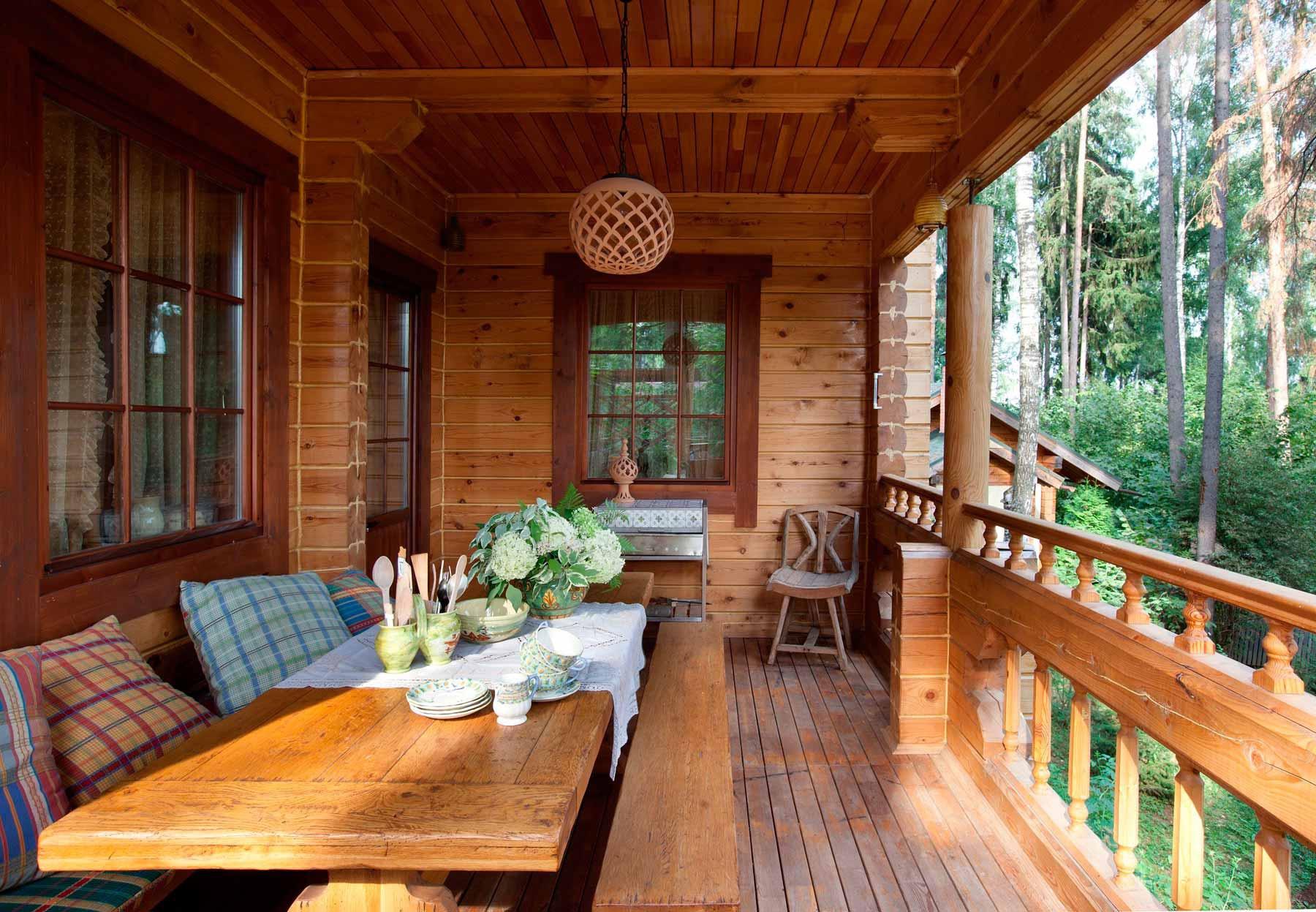 Внутренняя отделка веранды в частном доме: фото чем обшить, .