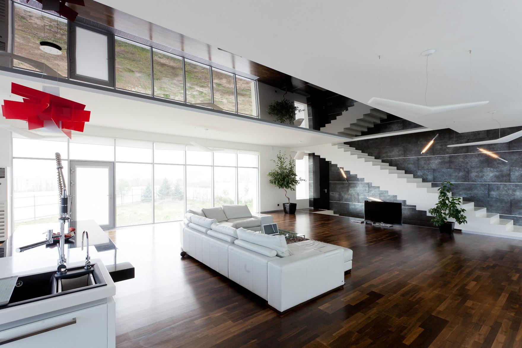 Интерьеры домов фото в стиле минимализм