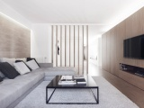 Квартира на стиле минимализм к семьи с пяти человек