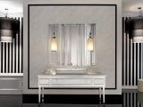Как оформить ванную комнату в стиле ар-деко