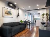 Минимализм для небольшой мужской квартиры